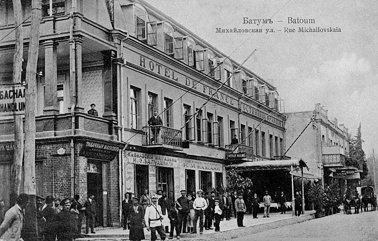 სასტუმროები ბათუმში XIX საუკუნის ბოლოსა და XX საუკუნის დასაწყისში